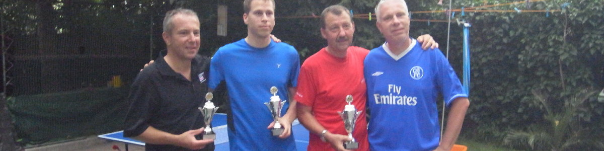 Wolfi Hammer ASV Tischtennismeister 2013
